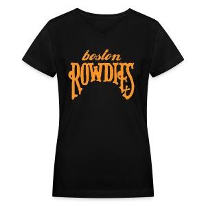 Boston Rowdies Women's V-Neck T-Shirt - Women's V-Neck T-Shirt