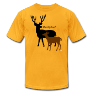 T-Shirts ~ Men's T-Shirt by American Apparel ~ What Up Doe? Men's American Apparel Tee