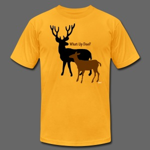 What Up Doe? Men's American Apparel Tee - Men's T-Shirt by American Apparel