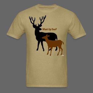 What Up Doe? Men's Standard Weight T-Shirt - Men's T-Shirt