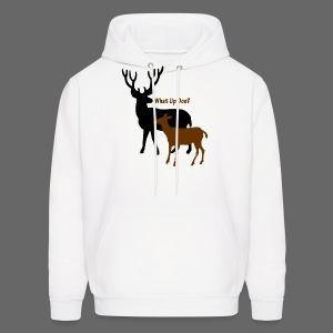 What Up Doe? Men's Hooded Sweatshirt - Men's Hoodie