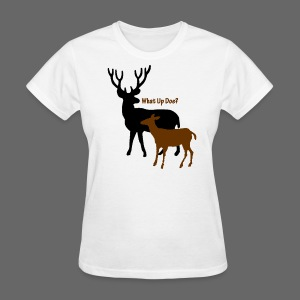 What Up Doe? Women's Standard Weight T-Shirt - Women's T-Shirt