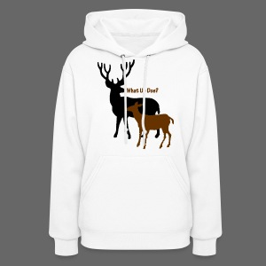 What Up Doe? Women's Hooded Sweatshirt - Women's Hoodie