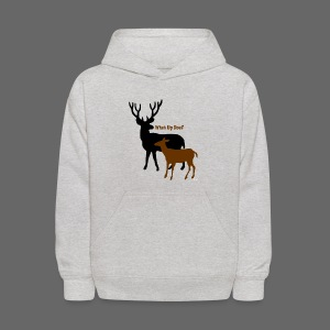 What Up Doe? Kid's Hooded Sweatshirt - Kids' Hoodie