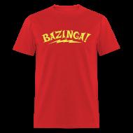 T-Shirts ~ Men's T-Shirt ~ BAZINGA T-Shirt New!