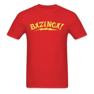 BAZINGA T-Shirt New! - Men's T-Shirt