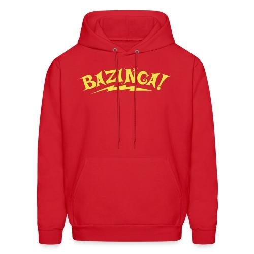 Exclusive BAZINGA Hoodie Flex Design - Men's Hoodie