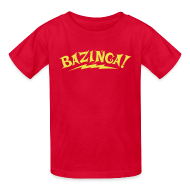 Kids' Shirts ~ Kids' T-Shirt ~ BAZINGA Child T-Shirt  New!