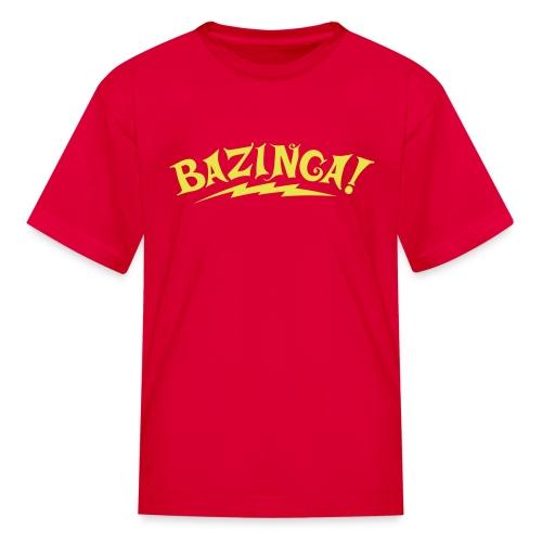 BAZINGA Child T-Shirt  New! - Kids' T-Shirt