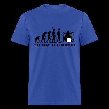 Royal blue evolution_drummer_c_2c T-Shirts