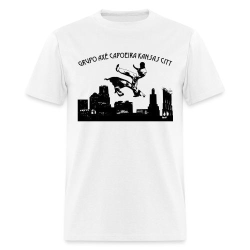 Men's White Grupo Axé Capoeira Kansas City - Men's T-Shirt