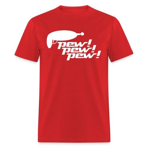 Pew! Pew! Pew! Men's Tee - Men's T-Shirt