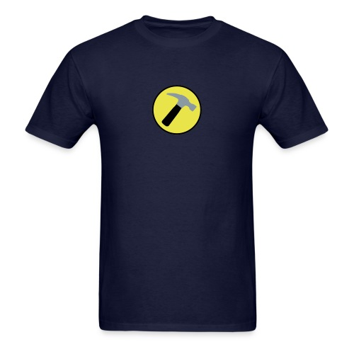 CAPTAIN HAMMER T-Shirt - New Metallic Hammer! - Men's T-Shirt