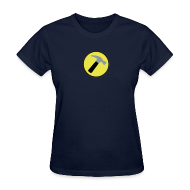 T-Shirts ~ Women's T-Shirt ~ CAPTAIN HAMMER Women T-Shirt - New Metallic Hammer!