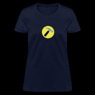 T-Shirts ~ Women's T-Shirt ~ CAPTAIN HAMMER Women T-Shirt - New Metallic Hammer!