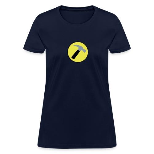 CAPTAIN HAMMER Women T-Shirt - New Metallic Hammer! - Women's T-Shirt