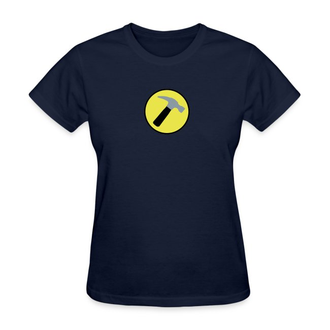CAPTAIN HAMMER Women T-Shirt - New Metallic Hammer!