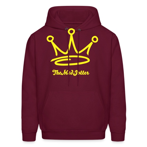 the king mad jotter - Men's Hoodie
