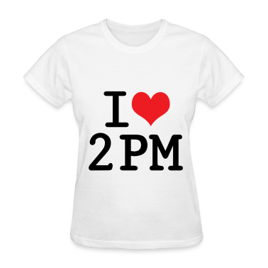 I LOVE 2PM (WHITE)