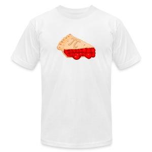 Slice of Pi - Men's Fine Jersey T-Shirt