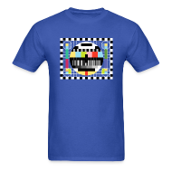 T-Shirts ~ Men's T-Shirt ~ TV PATTERN T-Shirt - Sheldon Cooper Costume Classic