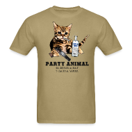 T-Shirts ~ Men's T-Shirt ~ Party Animal