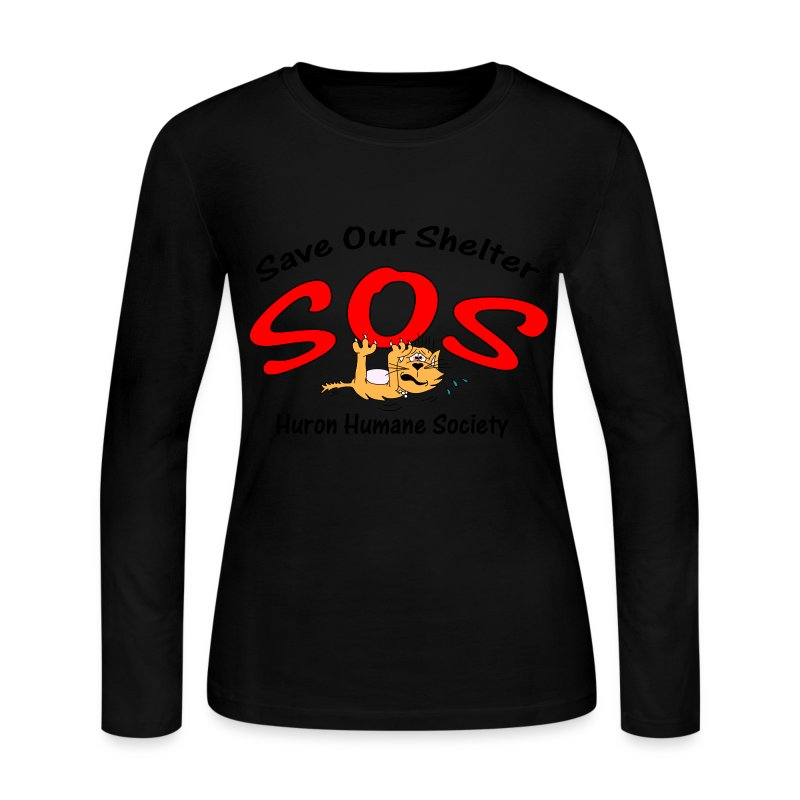 Save Our Shelter! Women's Long Sleeve - Women's Long Sleeve Jersey T-Shirt
