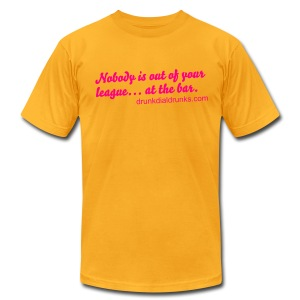 Nobody Men's Jersey Tee - Men's T-Shirt by American Apparel