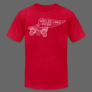 Walled Lake Roller Men's American Apparel Tee - Men's T-Shirt by American Apparel