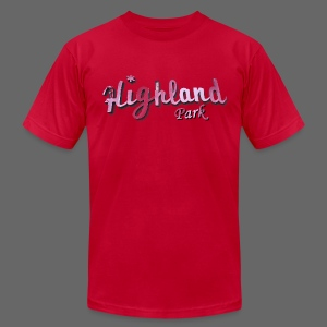 Highland Park Men's American Apparel Tee - Men's T-Shirt by American Apparel