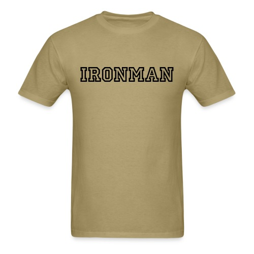 IronMan - Swim Run Bike - Men's T-Shirt