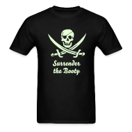 T-Shirts ~ Men's T-Shirt ~ PIRATES of the CARIBBEAN T-Shirt - Surrender the Booty!