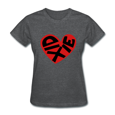 heart of dixie t-shirt