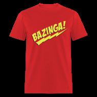 T-Shirts ~ Men's T-Shirt ~ BAZINGA T-Shirt - Flex Design