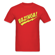 T-Shirts ~ Men's T-Shirt ~ BAZINGA T-Shirt - Flex Design