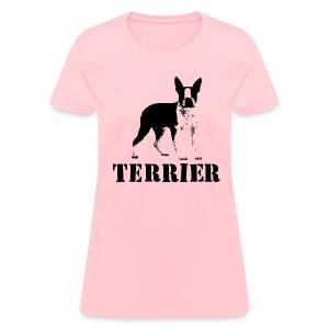 Boston Terrier Women's Standard Weight T-Shirt - Women's T-Shirt