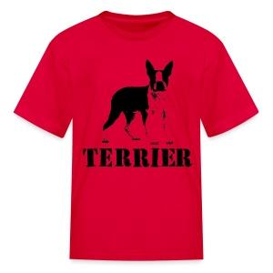 Boston Terrier Children's T-Shirt - Kids' T-Shirt