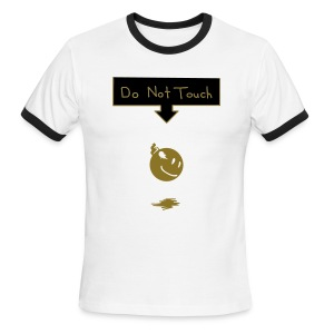 DO NOT TOUCH - Men's Ringer T-Shirt