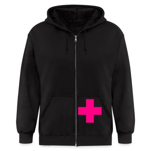 cross prono - Men's Zip Hoodie