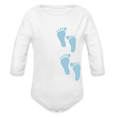White Foot Step Baby Body