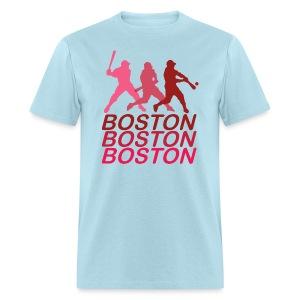 Boston Three Men's Standard WeightT-Shirt - Men's T-Shirt