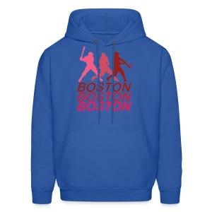 Boston Three Men's Hooded Sweatshirt - Men's Hoodie