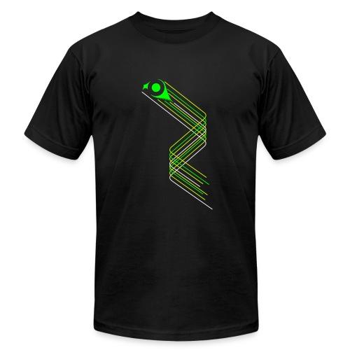 ZIG-001 Zigzag Mens AA Tee - Men's Fine Jersey T-Shirt
