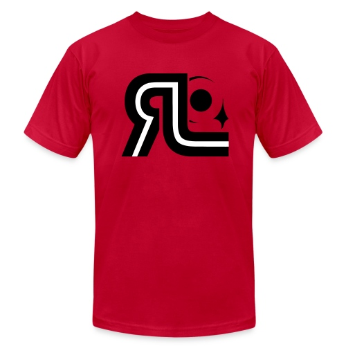 RLL-003 RL Mens AA Tee - Men's Fine Jersey T-Shirt