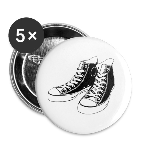 Converse buttons - Buttons small 1'' (5-pack)