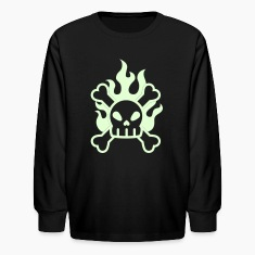 Glow in the dark skull & crossbones