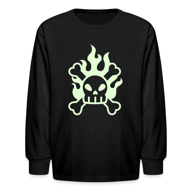 Anvil Graphic Design Inc Glow In The Dark Skull Crossbones