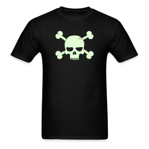 SKULL BONE T-Shirt - Glow -in-the-Dark - Men's T-Shirt