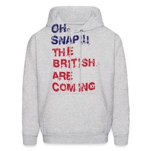 Oh Snap Boston Men's Hooded Sweatshirt - Men's Hoodie