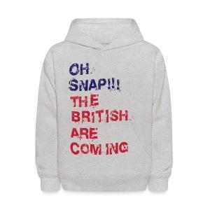 Oh Snap Boston Kid's Hooded Sweatshirt T-Shirt - Kids' Hoodie